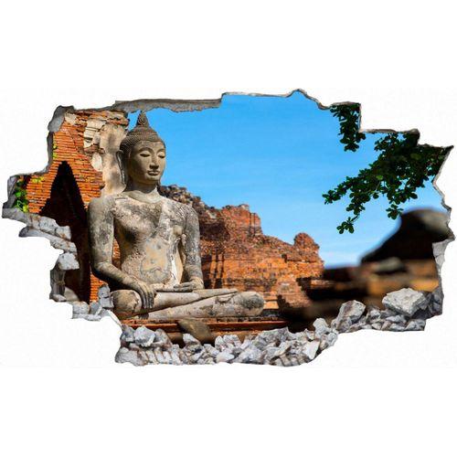 DesFoli Wandtattoo »Buddha Buddhismus Religion C0774