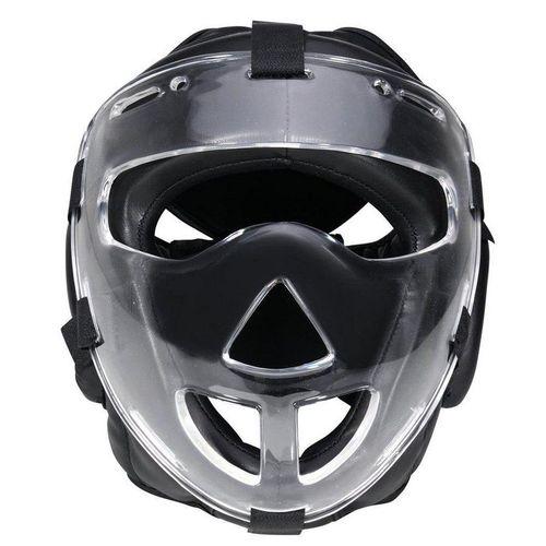 BAY-Sports Kopfschutz »Kampfsport Plexiglas Maske Krav Maga Boxen MMA«, WP mit abnehmbarer Plexiglas, Vollkontakt, S - XL