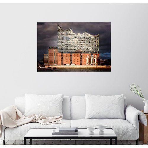 Posterlounge Wandbild, Elbphilharmonie