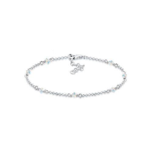 Elli Armband »Klassiker Elegant Kristalle 925 Silber«, Kristall Armband