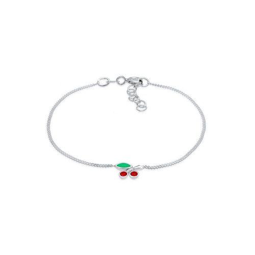 Elli Armband »Kinder Kirsche Rot Kristalle 925 Silber