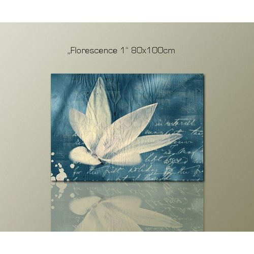 Sinus Art Leinwandbild »Florescene1«
