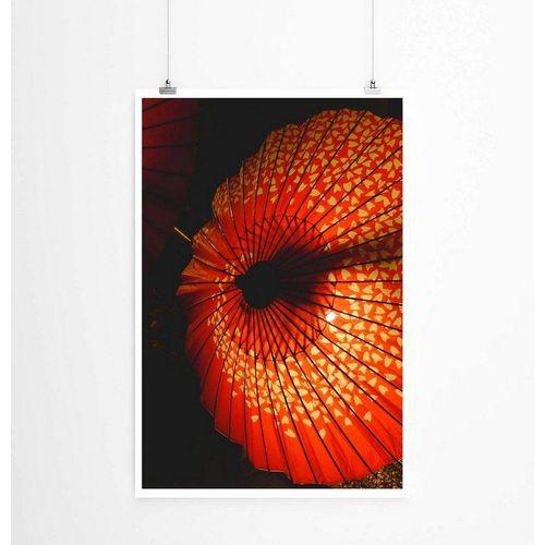 Sinus Art Poster »60x90cm Poster Künstlerische Fotografie  Asiatische Sonnenschirme«
