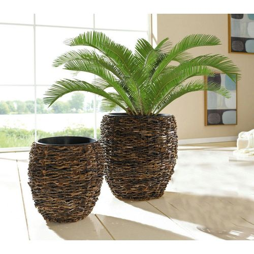 HomeLiving Übertopf »Kokos«