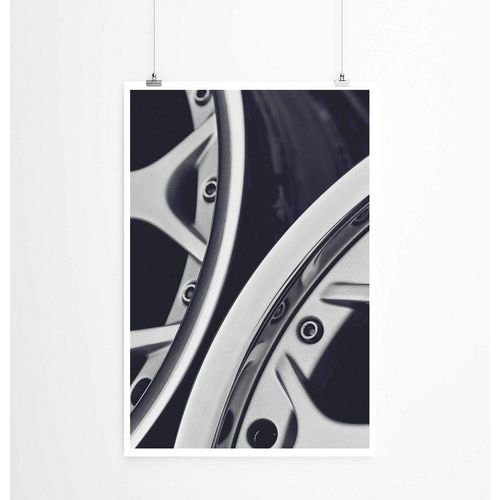 Sinus Art Poster »Bild  Autofelgen 60x90cm Poster«