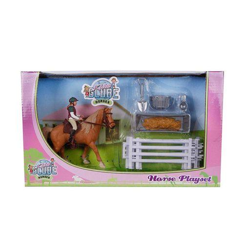 Kids Globe Spielwelt »Kids Globe Pferde Spielzeug mit Pferd + Reiter