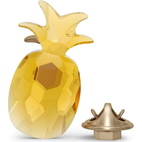 Swarovski Dekoobjekt »Jungle Beats Ananas Magnet, gelb, groß, 5572158« (1 Stück), Swarovski® Kristall