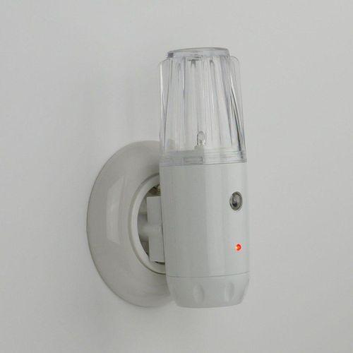niermann LED Nachtlicht »Nachtlicht«, Stecker- Nachtlicht Set (1 x Oval, 1 x 3in1), weiß