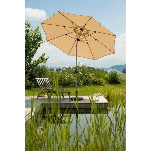 Schneider Schirme Sonnenschirm »Venedig«, ohne Schirmständer, beige