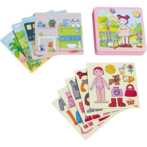 Haba Puzzle »Anziehpuppe Lilli«, 54 Puzzleteile