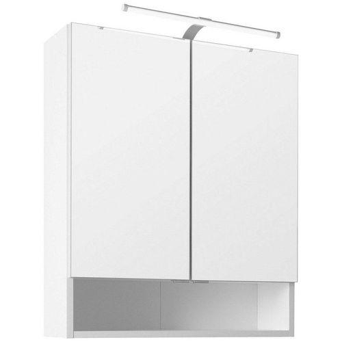 HELD MÖBEL Spiegelschrank »60« Breite 60 cm, mit Schalter und Steckdose, weiß