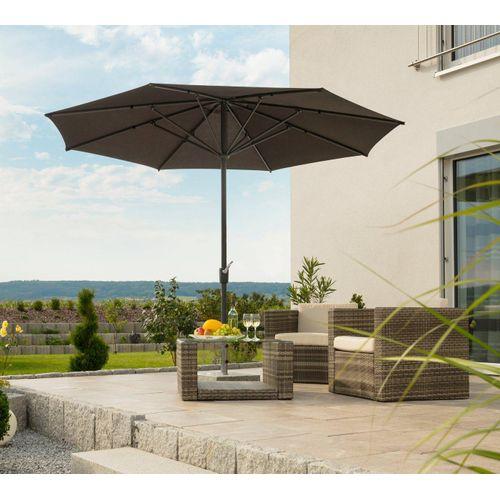 Schneider Schirme Sonnenschirm »Korsika«, ohne Schirmständer, braun