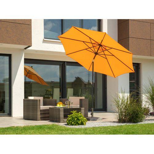 Schneider Schirme Sonnenschirm »Harlem«, ohne Schirmständer, orange