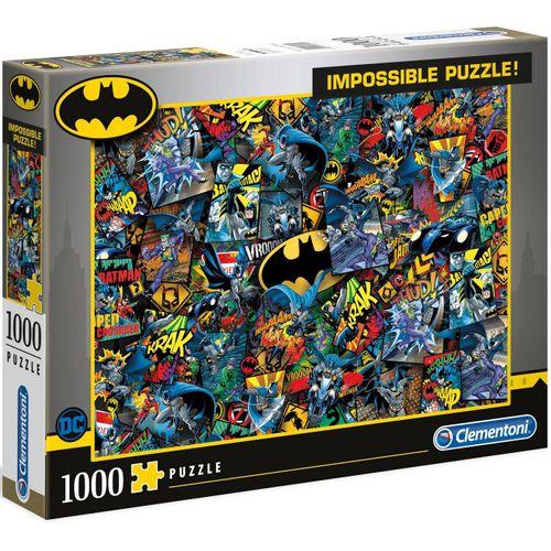 Clementoni® Puzzle »Impossible Collection - Batman«, 1000 Puzzleteile, bunt