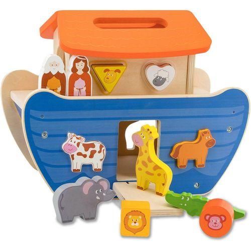 Jamara Steckspielzeug »JAMARA Kids, Arche Noah«, (13-tlg), bunt
