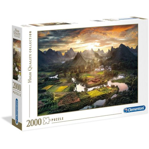 Clementoni® Puzzle »High Quality Collection - Tal in China«, 2000 Puzzleteile, Made in Europe, bunt