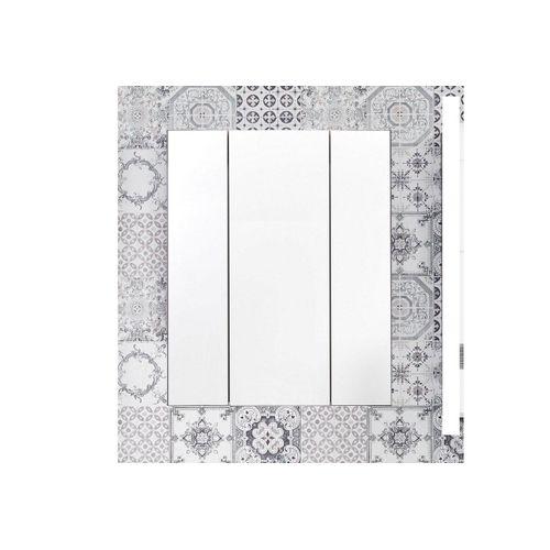 trendteam Spiegelschrank »Tone« 3-Türig, grau