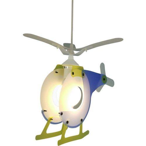 niermann Hängeleuchte »Hubschrauber«, Pendelleuchte Hubschrauber, weiß