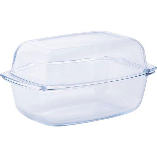 van Well Auflaufform, Glas, feuerfestes Glas, 7 Liter