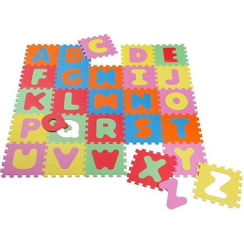 Knorrtoys® Puzzle »Alphabet«, 26 Puzzleteile, Puzzlematte, Bodenpuzzle, bunt
