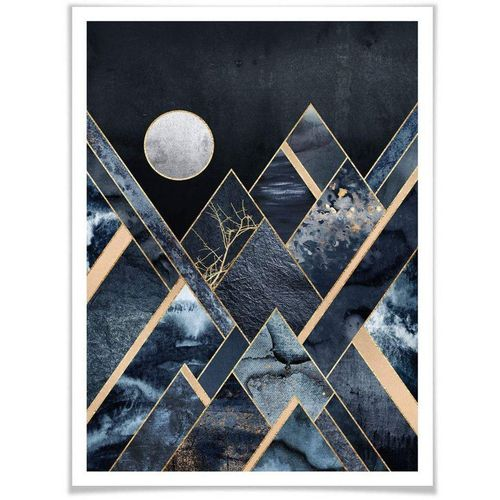 Wall-Art Poster »Nachthimmel«, Himmel (1 Stück), bunt