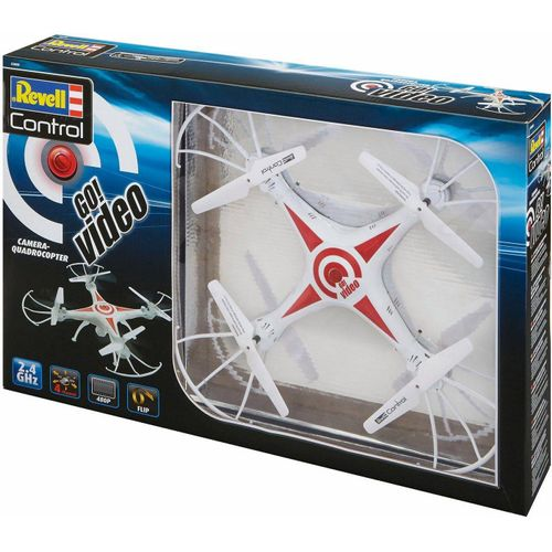 Revell® RC-Quadrocopter »Revell® control, Go! Video«, mit Kamera, weiß