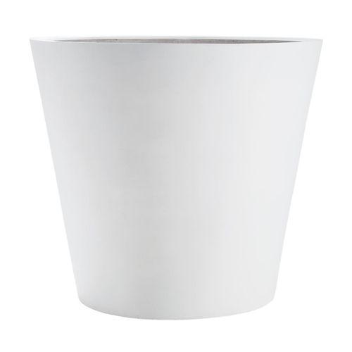 amei - Der Runde Blumentopf XL - weiß/H x Ø 60x70cm