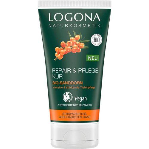 LOGONA Haarkur »Logona Repair&Pflege Haarkur Bio-Sanddorn«, weiß