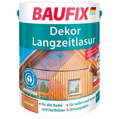 Baufix Holzschutzlasur »Dekor-Langzeitlasur«, 5 Liter, natur, beige