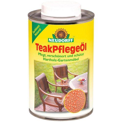 Neudorff Teakholzöl »Teak-Pflegeöl«, 500 ml, weiß