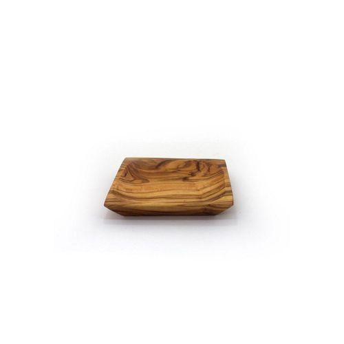 mitienda Servierschale »Schälchen viereckig 13 cm aus Holz«