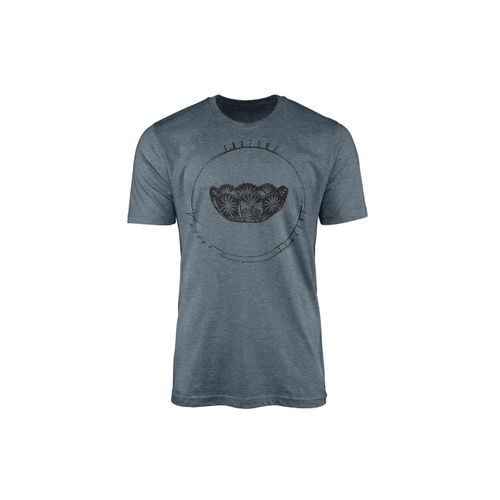 Sinus Art T-Shirt »Vintage Herren T-Shirt Kristallschale