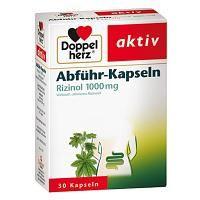 DOPPELHERZ Abfuehr-Kapseln Rizinol 1000 mg 30 St