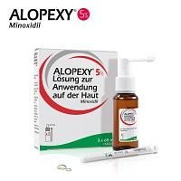 ALOPEXY® 5 % Haarwachstum reaktivierende Lösung 3X60 ml
