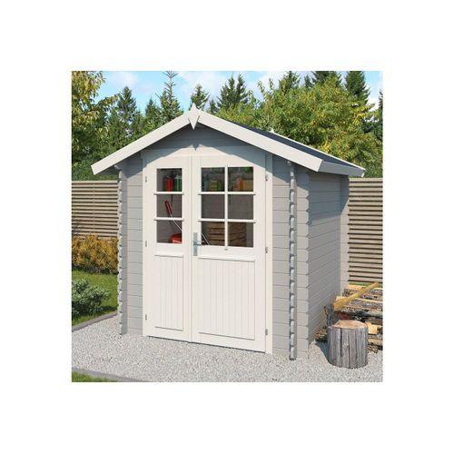 Outdoor Life Products Gartenhaus »Morava B«, BxT: 221x221 cm, grau