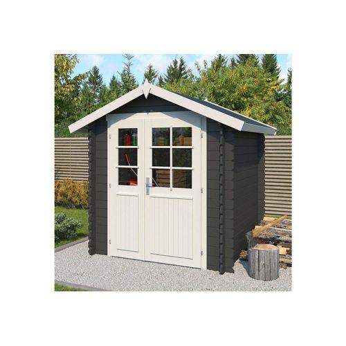 Outdoor Life Products Gartenhaus »Morava B«, BxT: 221x221 cm, schwarz