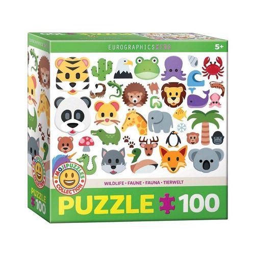 EUROGRAPHICS Puzzle »Eurographics 6100-5395 Tierwelt 100 Teile Puzzle«, Puzzleteile, bunt