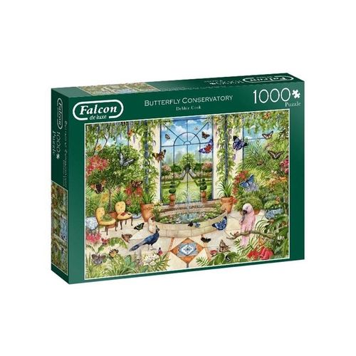 Jumbo Puzzle Falcon - Butterfly Conservatory (1000 piece