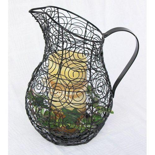 Ambiente Haus Kerzenlaterne »Kerzenständer Kanne 26 cm Kerzenleuchter 75010 Kerzenhalter Krug Wasserkrug«