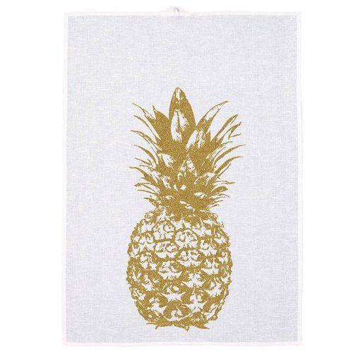 Frohstoff Geschirrtuch Ananas Gold