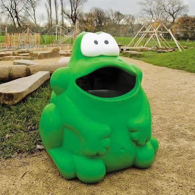 "Abfallbehälter ""Froggo"""