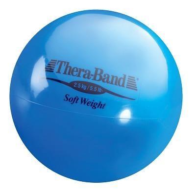 """TheraBand Gewichtsball """"Soft Weight"""", 2,5 kg, Blau"""