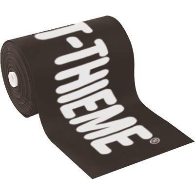 "Sport-Thieme Therapieband ""75"", Schwarz = ultra stark, 2 m x 7,5 cm"