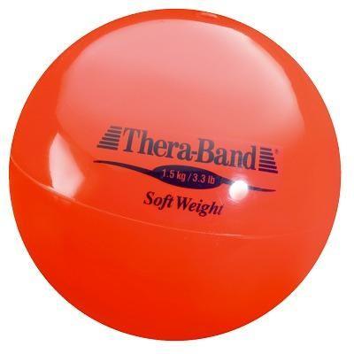 "TheraBand Gewichtsball ""Soft Weight"", 1,5 kg, Rot"