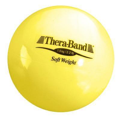 """TheraBand Gewichtsball """"Soft Weight"""", 1 kg, Gelb"""