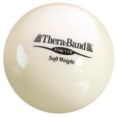 """TheraBand Gewichtsball """"Soft Weight"""", 0,5 kg, Beige"""