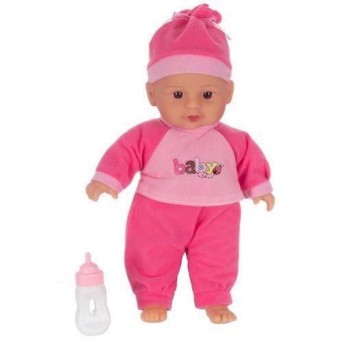 Toi-Toys Babypuppe »Babypuppe mit Flasche 30cm Spielpuppe Therapiepupp