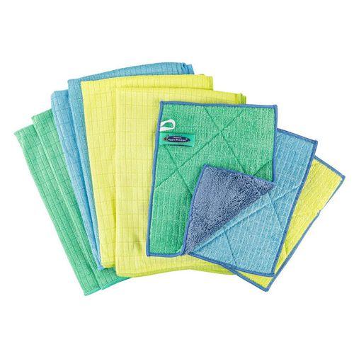 AQUA CLEAN Geschirrtuch »AQUA CLEAN Kristall Sonnenschein Geschirr- & Spültücher 9 tlg.