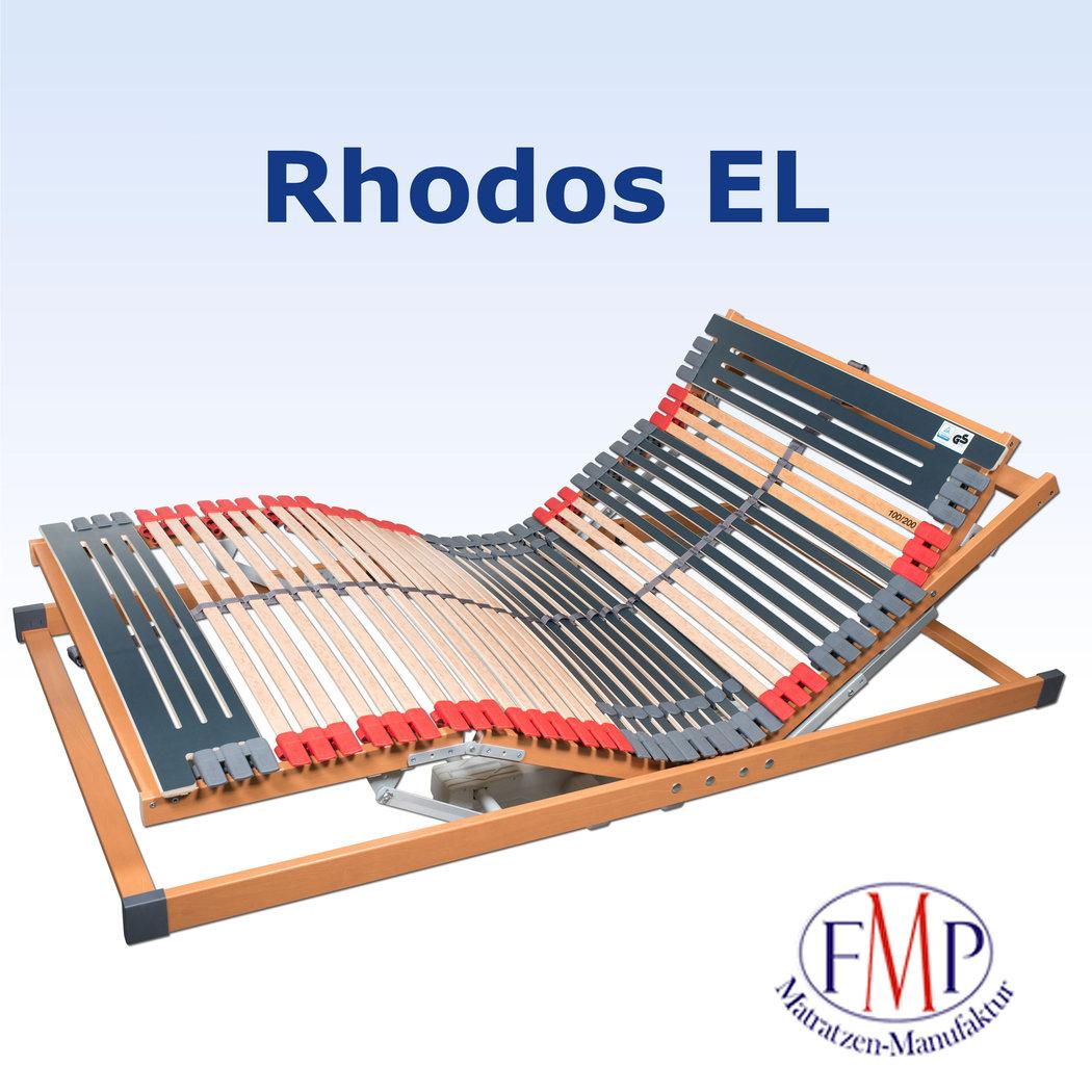 7 Zonen Lattenrost Rhodos EL elektrisch verstellbar 100 x 200 cm