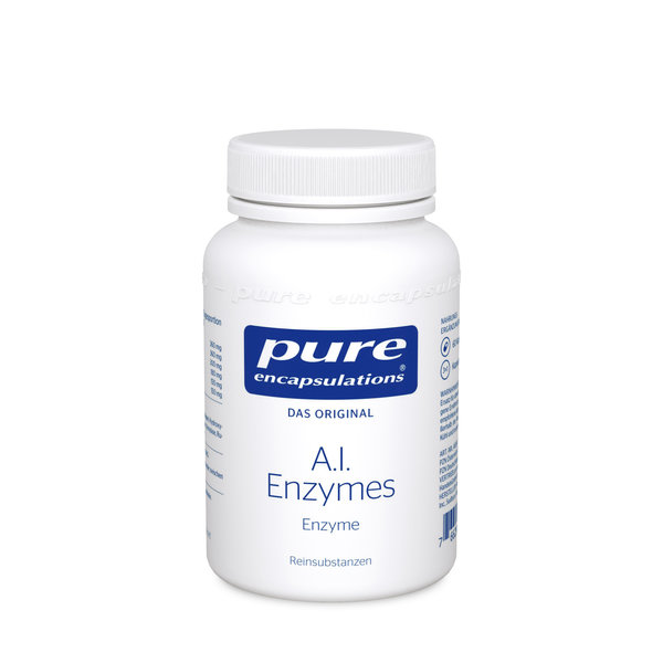 Pure A.I. Enzymes 60 Kapseln